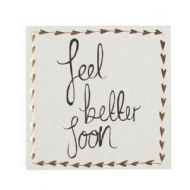 Louise & Lygo 'Feel Better Soon' Card